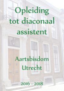 Flyer opleiding diaconaal assistent Aartsbisdom Utrecht 2016-2018