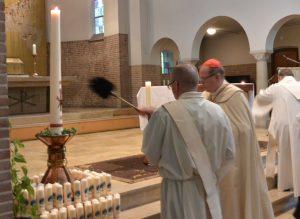 Start Lourdes 2018 kaarsenzegening kl