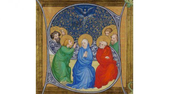 Tweede Pinksterdag: viering 'Maria, Moeder van de Kerk'