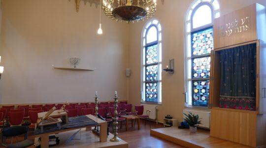 Werkgroep Kerk en Jodendom bezoekt Utrechtse sjoel