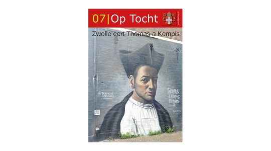 Thomas a Kempis siert omslag bisdomblad Op Tocht